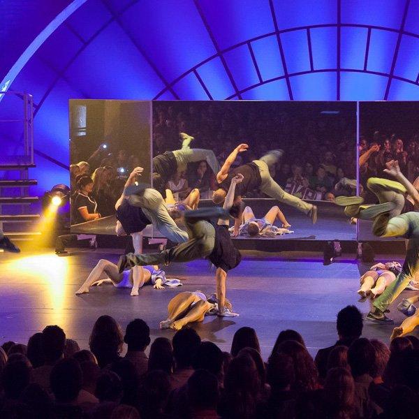 Mobile Spiegel für Tanz