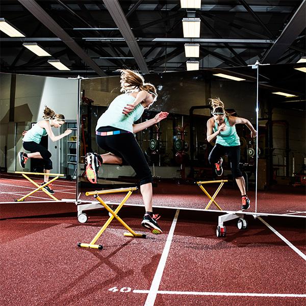 Mobile Spiegel für Sport