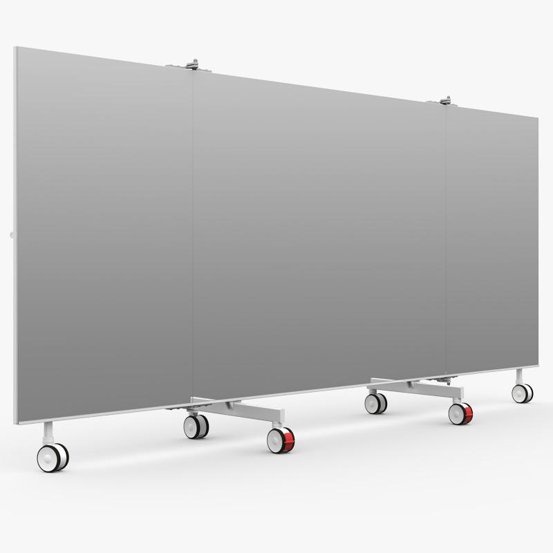 Mobile Spiegel 4 Meter front